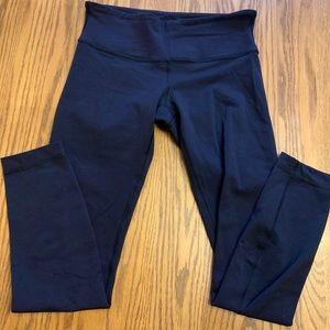 Lululemon low waist black Wunder Under leggings